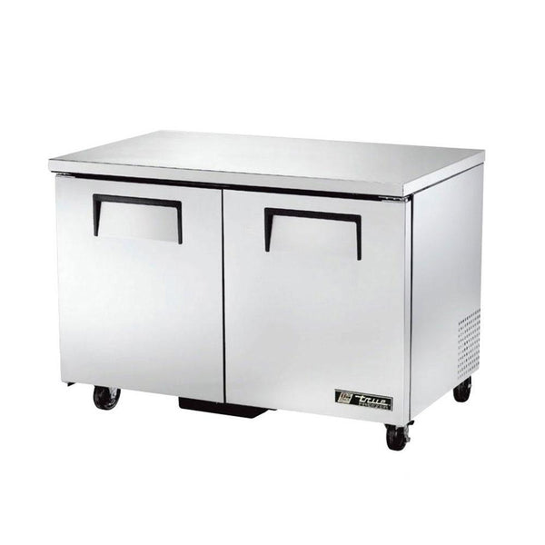 "True TUC-48F-HC 48"" 2 Solid Door Undercounter Freezer"
