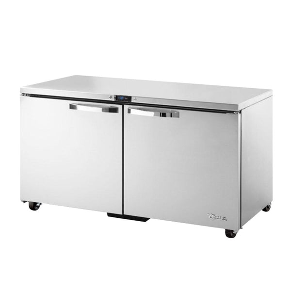 TRUE TUC-60F-ADA-HC~SPEC3 15.5-cu ft Undercounter Freezer w/ (2) Sections & (2) Doors