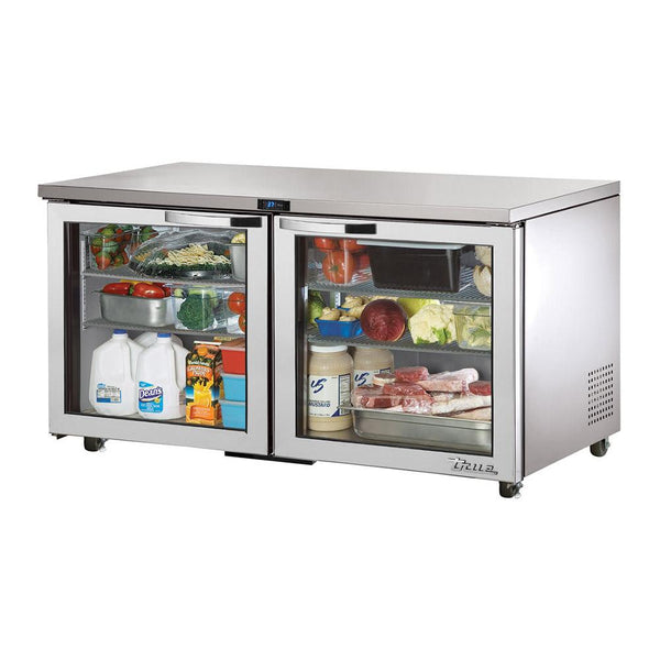 TRUE TUC-60G-ADA-HC~SPEC3 Undercounter, ADA Compliant Glass Door Refrigerator