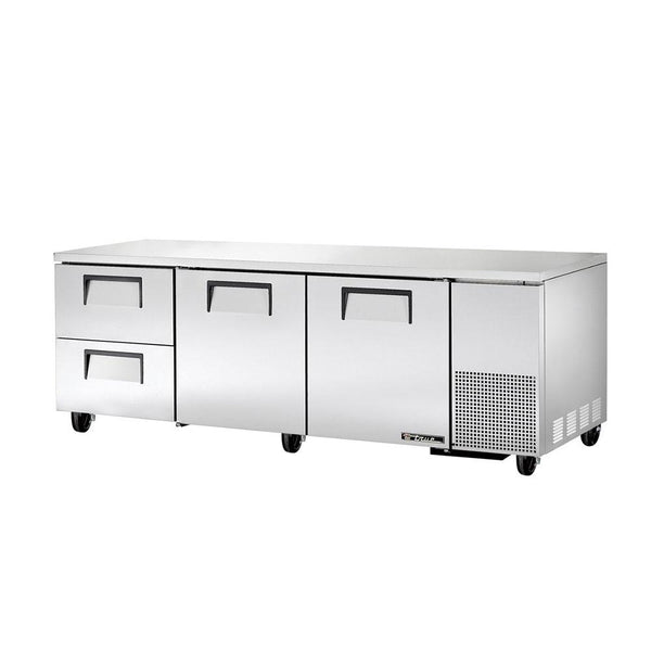 "True TUC-93D-2-HC 93"" Undercounter Refrigerator With 2-Door And 2-Drawer"
