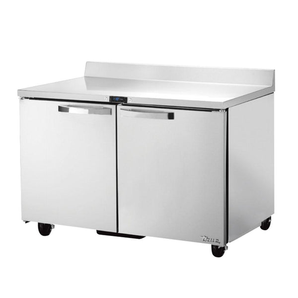 "TRUE TWT-48F-HC~SPEC3 48"" Work Top Freezer w/ (2) Section & (2) Doors"