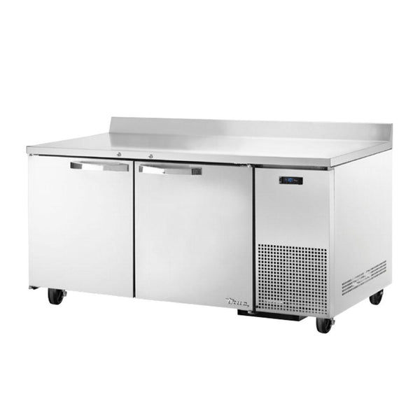 "TRUE TWT-67F-HC~SPEC3 67"" Work Top Freezer w/ (2) Section & (2) Doors"