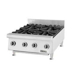 U.S. Range UTOG24-4 Natural Gas / Liquid Propane Heavy-Duty 4 Burner Countertop 24
