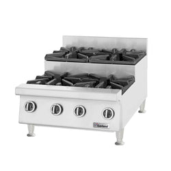 U.S. Range UTOG24-SU4 Natural Gas Heavy-Duty 4 Burner Step-Up Countertop 24