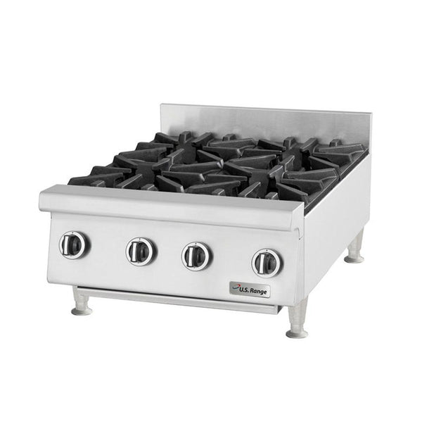 "U.S. Range UTOG36-6 Natural Gas / Liquid Propane Heavy-Duty 6 Burner Countertop 36"" Range -180,000 BTU"
