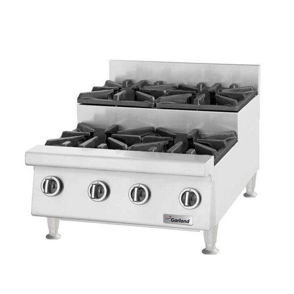 "U.S. Range UTOG48-SU8 Natural Gas / Liquid Propane Heavy-Duty 8 Burner Step-Up Countertop 48"" Range - 240,000"