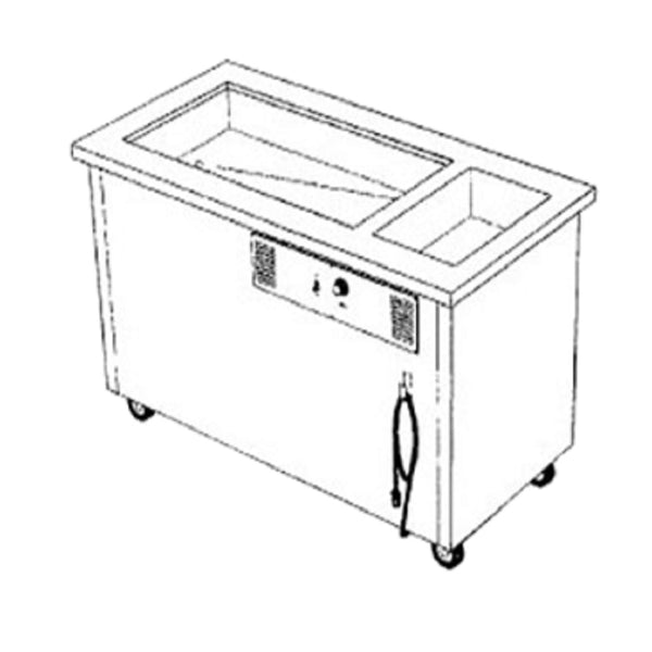 Garland Delfield SHC-50-NU Shelleysteel™ Combination Hot/Cold Serving