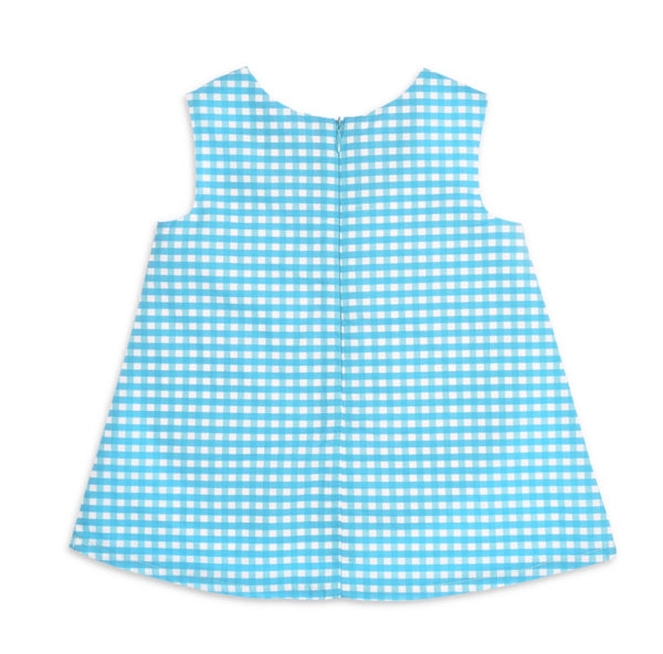 Agatha Ruiz de la Prada Baby Girls Turquoise Dress