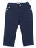 Amani Boys Navy Blue Trousers With Logo