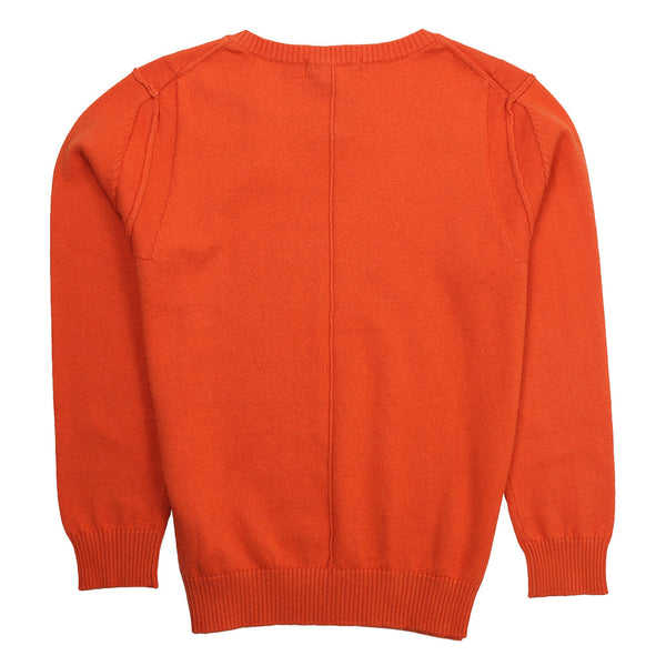 Atipico Boys Orange Knitted Sweater