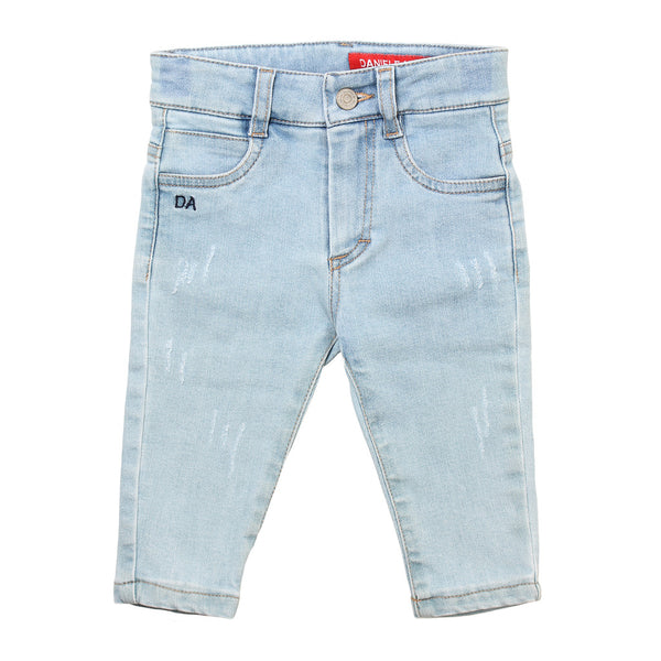 Daniele Alessandrini Boys Light Blue Jeans