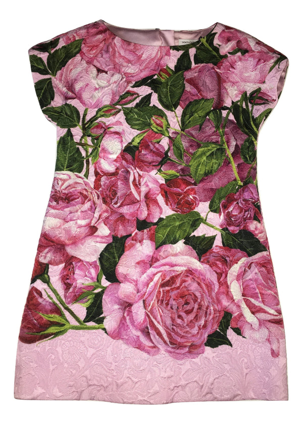Dolce & Gabbana Girls Flower Dress