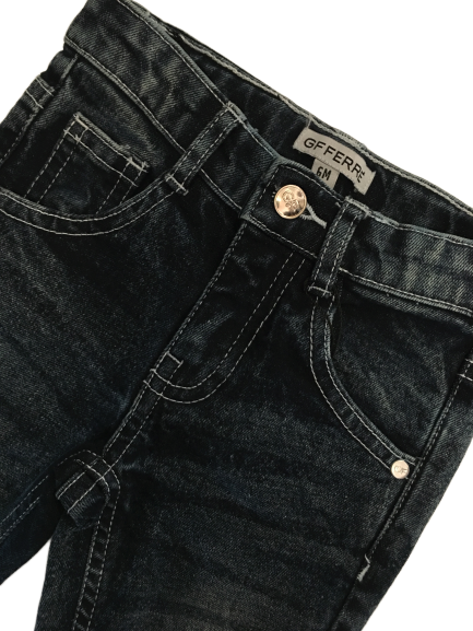 Gianfranco Ferre'  Boys Blue Jeans With Logo