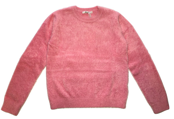 Gaialuna Girls Pink Fluffy Sweater