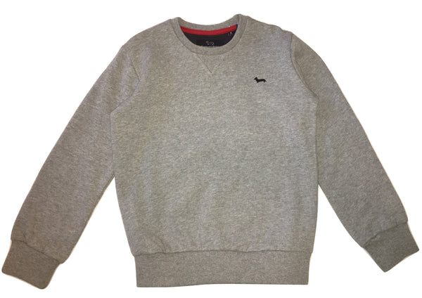 Harmont & Blaine Boys Grey Jumper With Front Logo