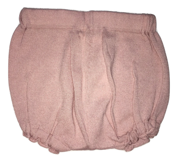 Le petit coco Baby Girls Pink And Warm Shorts