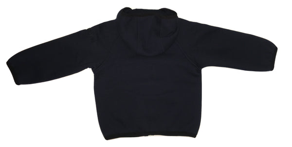Peuterey Baby Boys Navy Blue Hoodie With Logo