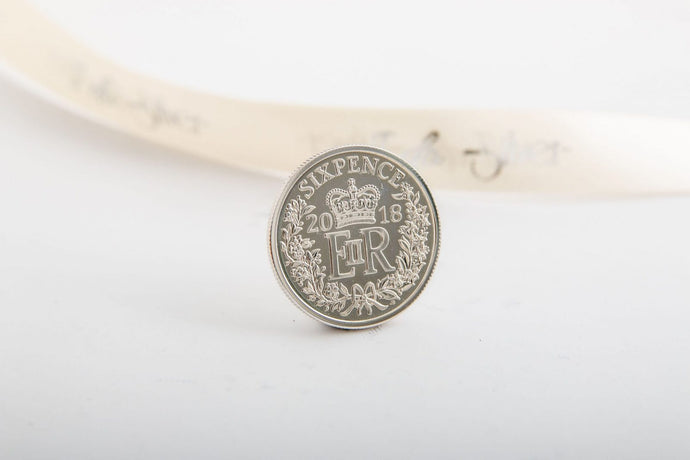 Queen Elizabeth Silver Sixpence