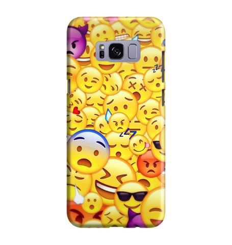 Samsung Galaxy S8 Handyhülle Hard Case - Smile 4