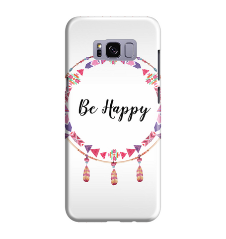 Samsung Galaxy S8 Handyhülle Hard Case - Be happy