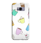 Samsung Galaxy S8 Handyhülle Hard Case - coffe