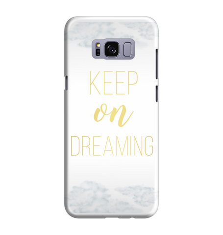 Samsung Galaxy S8 Handyhülle Hard Case - Keep on dreaming