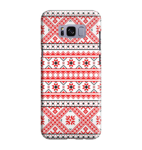 Samsung Galaxy S8 Handyhülle Hard Case - India Muster 12