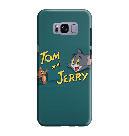 Samsung Galaxy S8 Handyhülle Hard Case - Tom and Jerry