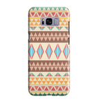 Samsung Galaxy S8 Handyhülle Hard Case - India Muster 6
