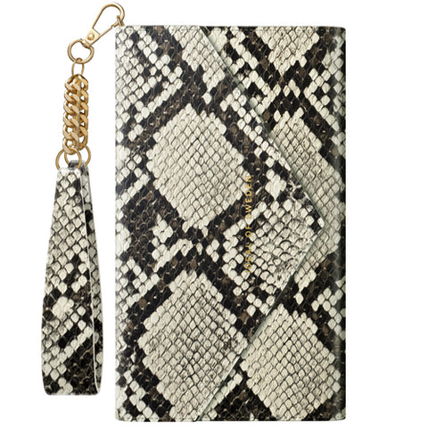 iPhone 12/12 Pro IDEAL OF SWEDEN ENVELOPE CLUTCH/HÜLLE- DESERT PYTHON