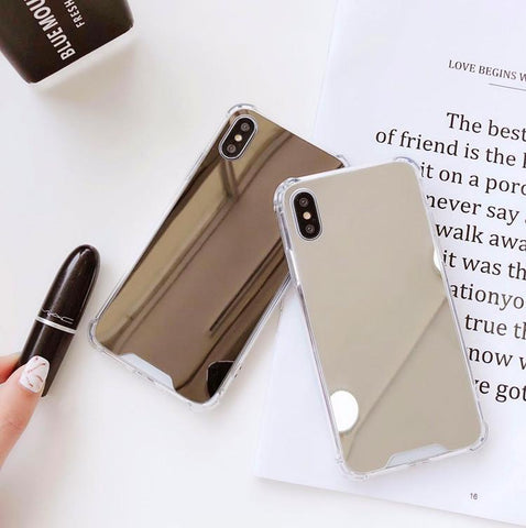 Mirror Series Handyhülle - iPhone XS Max (Silber) - 99-covers