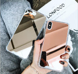 Mirror Series Handyhülle - iPhone XR (Bronze) - 99-covers