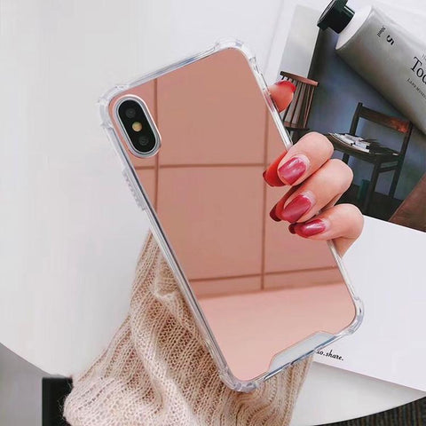 Mirror Series Handyhülle - iPhone X/XS (Bronze) - 99-covers