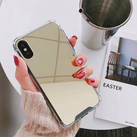 Mirror Series Handyhülle - iPhone XR (Gold) - 99-covers