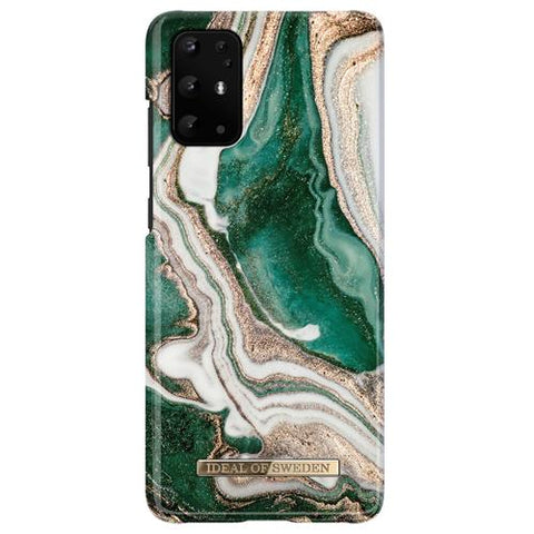 Samsung Galaxy S20+ iDeal of Sweden Hardcase Hülle - Golden Jade Marble