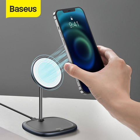 Baseus - iPhone 12 Series Swan MagSafe Ladestation Fast Wireless Charger