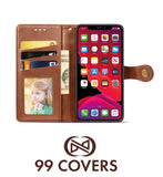 Flip Cover Tasche - iPhone 11 Pro Max Braun