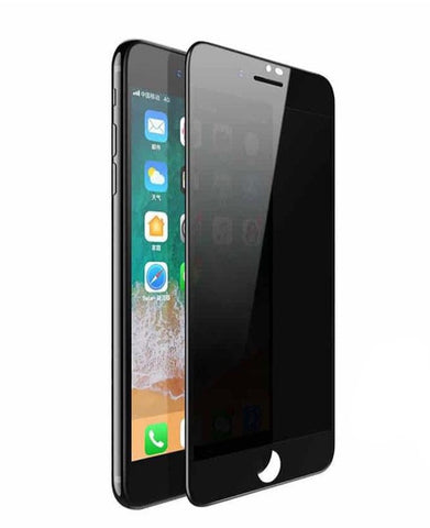 iPhone 6/6s/7/8/SE 2020 Privacy Panzer Glas Display Schutzglas - Schwarz