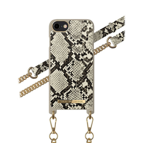 iPhone 6/6s/7/8/SE 2020 iDeal of Sweden Necklace Hardcase Hülle - Desert Python