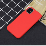 Silikon Series Handyhülle - iPhone 11 Pro Max (Rot) - 99-covers