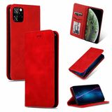 Flip Cover Tasche Vintage - iPhone 11 Pro (Rot)