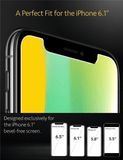 iPhone XR/11 Panzer Glas Display Schutzfolie - Case Friendly 2er Pack