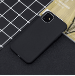 Silikon Series Handyhülle - iPhone 11 Pro Max (Schwarz) - 99-covers