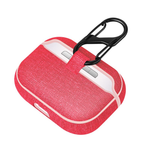 AirPods Pro Jeans Hardcase Schutzhülle - Rot