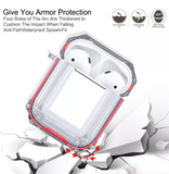 AirPods Protection Series Hardcase Schutzhülle - Clear Rot