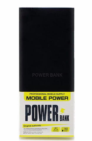 Ultra Slim Power Bank 6000mAh - Schwarz Matt - 99-covers