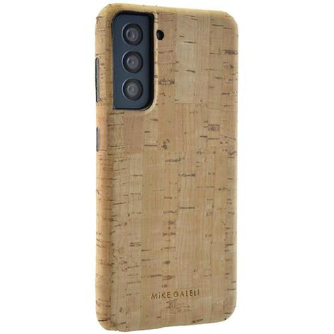 Samsung Galaxy S21 +  - Mike Galeli ECO Levi Kork Hardcase - Natural