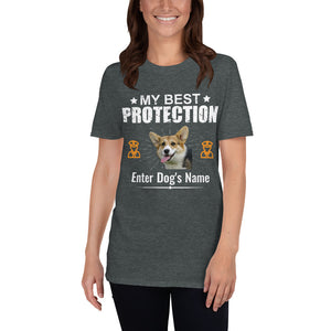 My Best Corgi Protection T-Shirt - Personalized - Absolute Badass