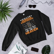 Load image into Gallery viewer, Say Hello To My Corgi My Link To Heaven Sweatshirt - Personalized Front And Back - Absolute Badass