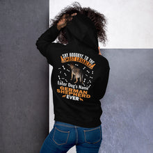 Load image into Gallery viewer, Say Hello To Most Lovable German Shepherd Ever Hoodie - Personalized Front And Back - Absolute Badass